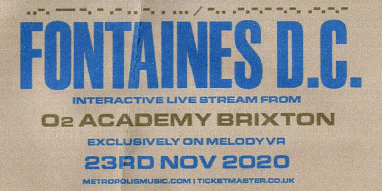 Fontaines D.C. Live Stream