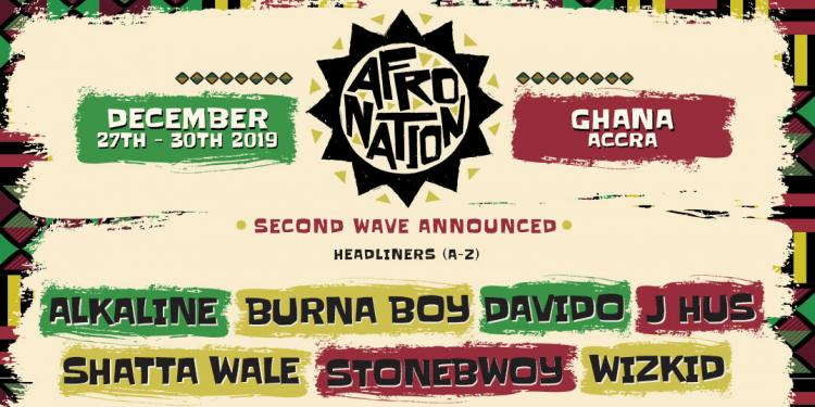 Afro Nation Line Up Poster