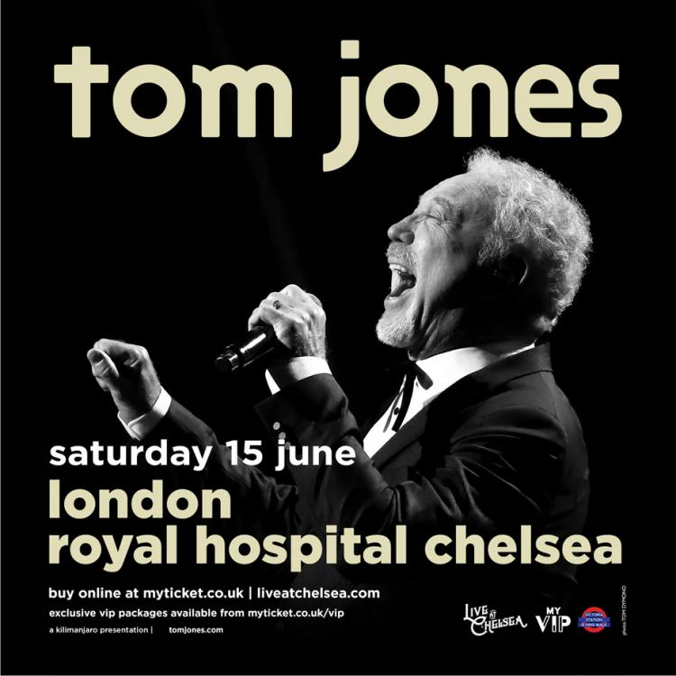 Tom Jones - Live At Chelsea