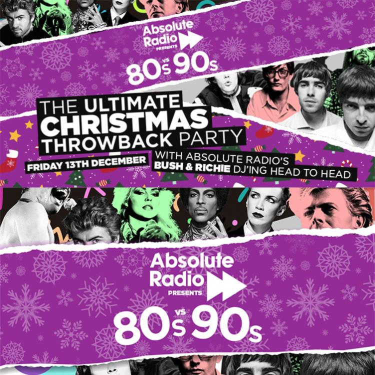 Absolute Radio 80s vs 90s
