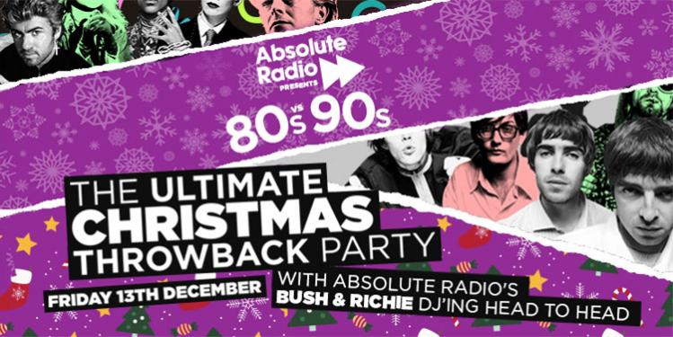 Absolute Radio 80s vs 90s