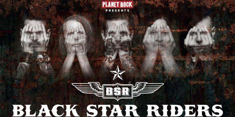 Black Star Riders tour
