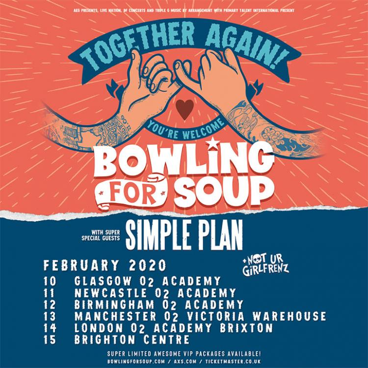 Bowling For Soup and Simple Plan