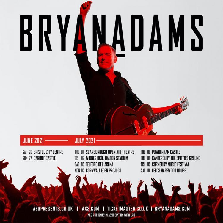 Bryan Adams outdoor tour