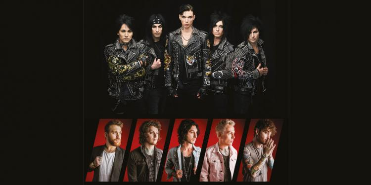 Black Veil Brides & Asking Alexandria