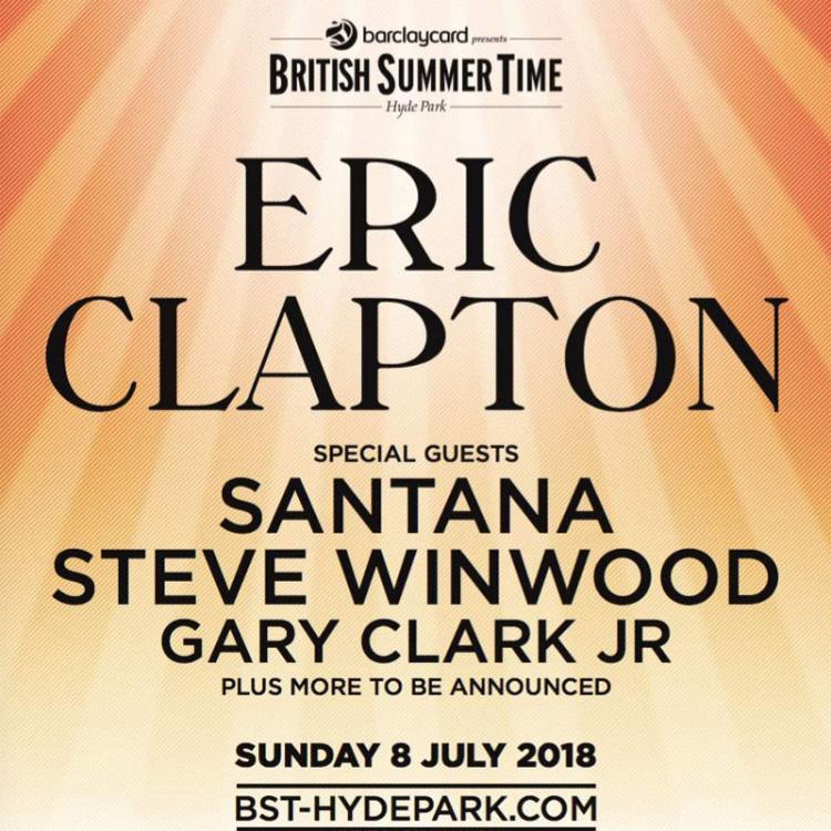 Eric Clapton BST Hyde Park