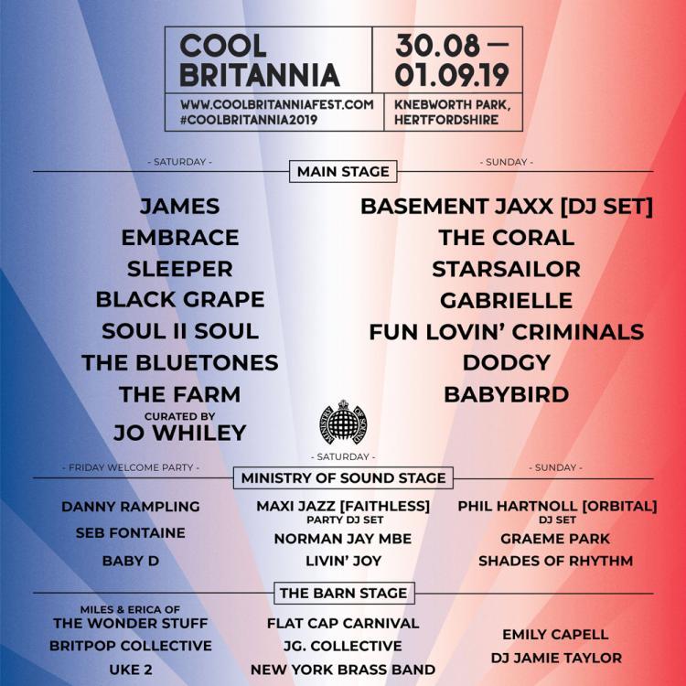 Cool Britannia Festival 2019