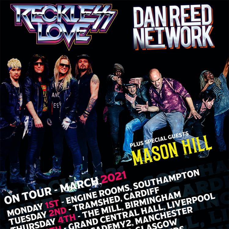 Dan Reed Network & Reckless Love