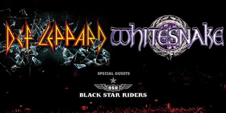 Def Leppard and Whitesnake