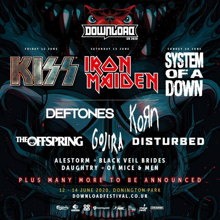 Download Festival 2020 line-up