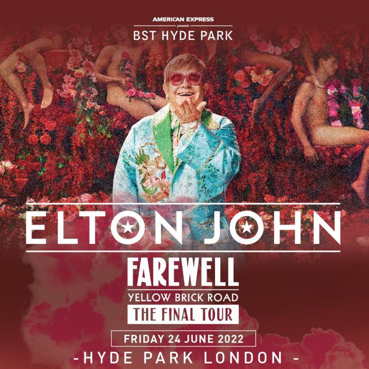 Elton John at American Express present BST Hyde Park