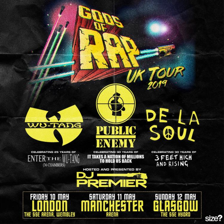 Gods of Rap UK Tour