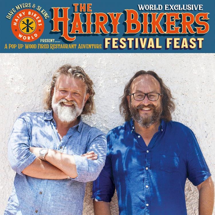 Cornbury Festival - Hairy Bikers