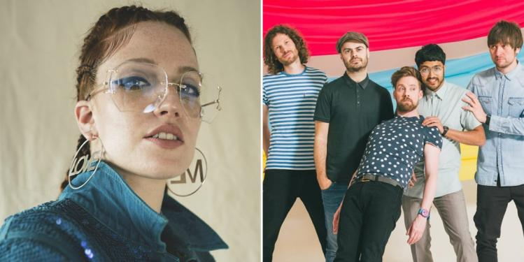Jess Glynne and Kaiser Chiefs
