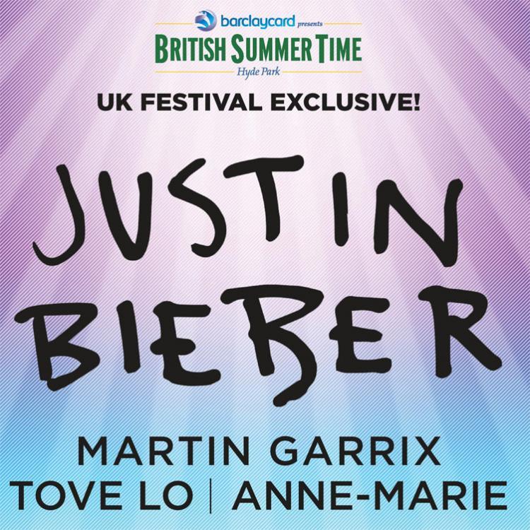 Justin Bieber - BST Hyde Park