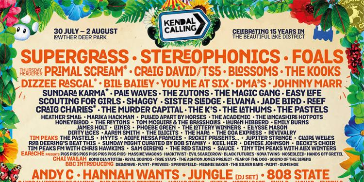 Kendal Calling 2020 line-up