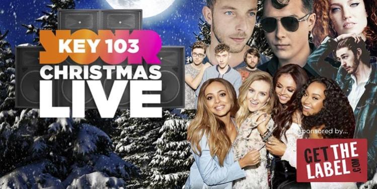 Key 103 Christmas Live (artists sponsored)