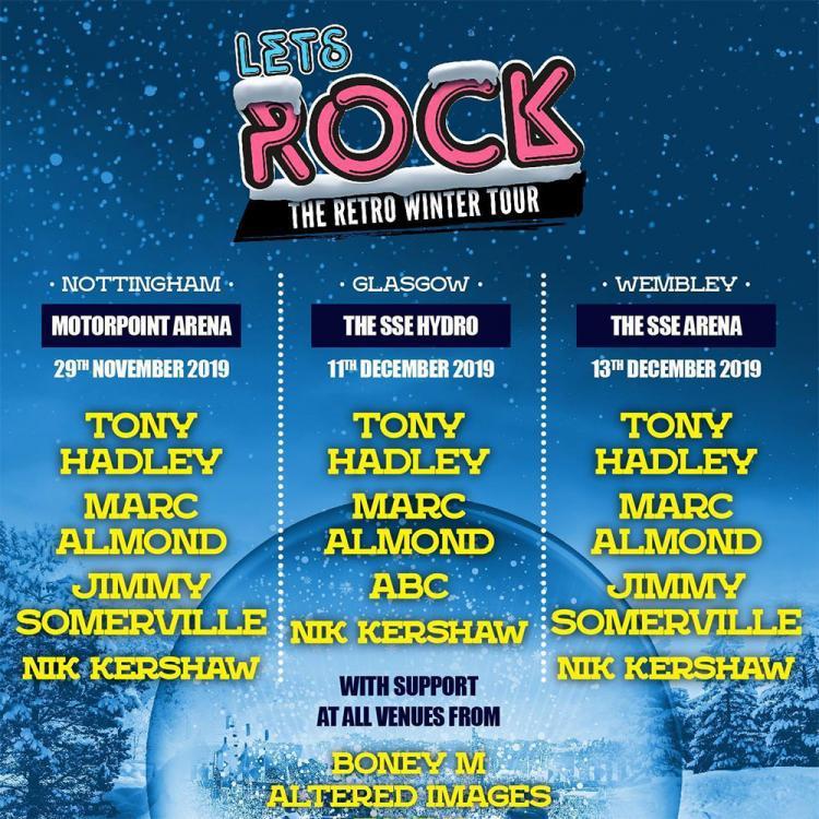 Let's Rock Retro Winter Tour