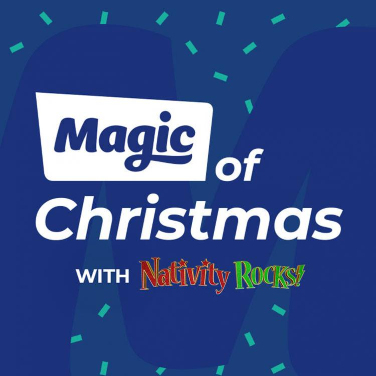 Magic of Christmas with Nativity Rocks