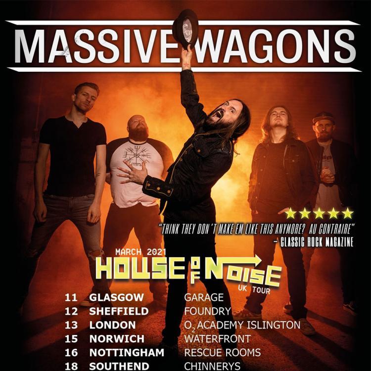 Massive Wagons UK tour