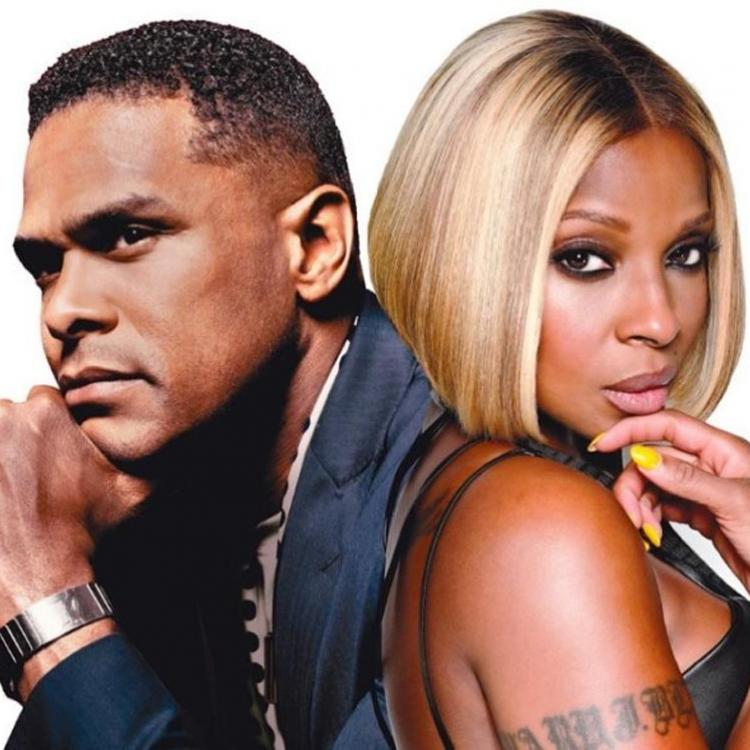 Mary J Blige and Maxwell