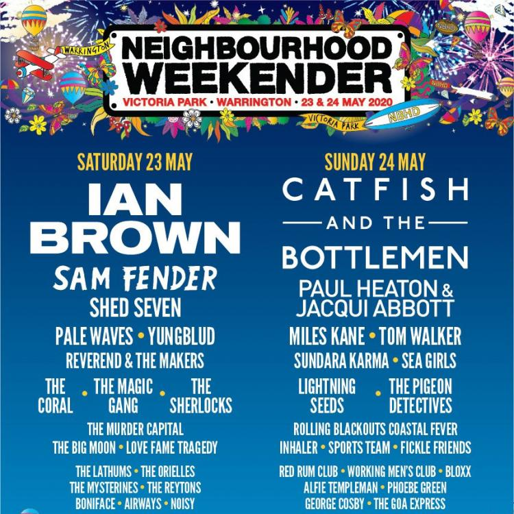 Neighbourhood Weekender - new