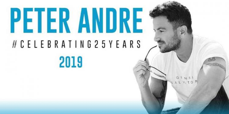 Peter Andre Celebrating 25 years