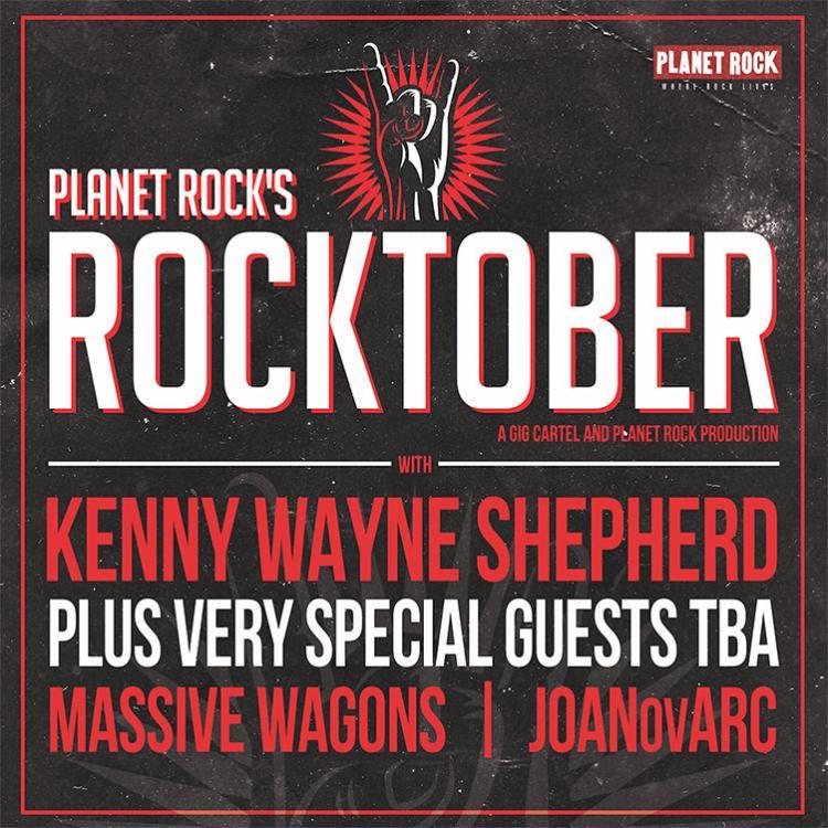 Planet Rock's Rocktober