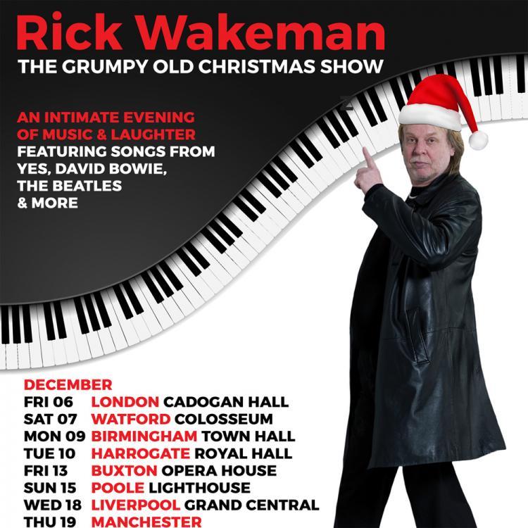 Rick Wakeman The Grumpy Old Christmas