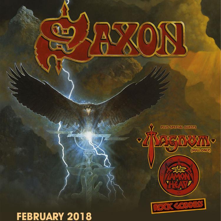 Saxon 2018 tour