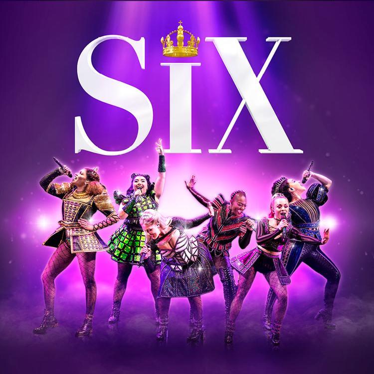 SIX with 6 ladies singing underneath