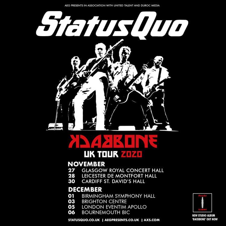 Status Quo - Backbone Tour