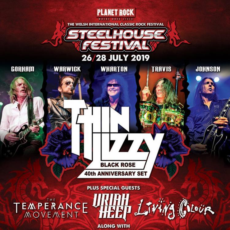Steelhouse Festival - Thin Lizzy
