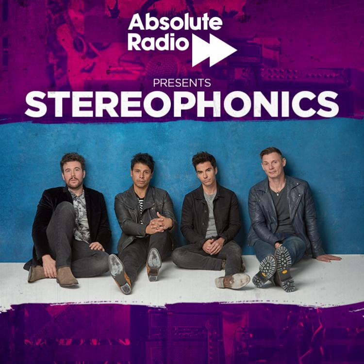 Absolute Radio presents Stereophonics live at O2 Forum Kentish Town