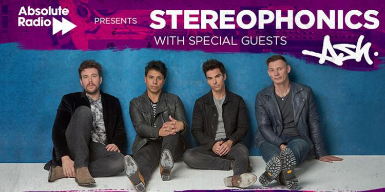 Stereophonics and Ash