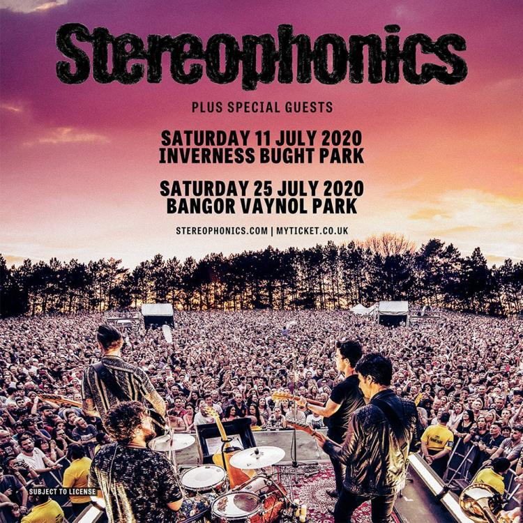 Stereophonics outdoor shows