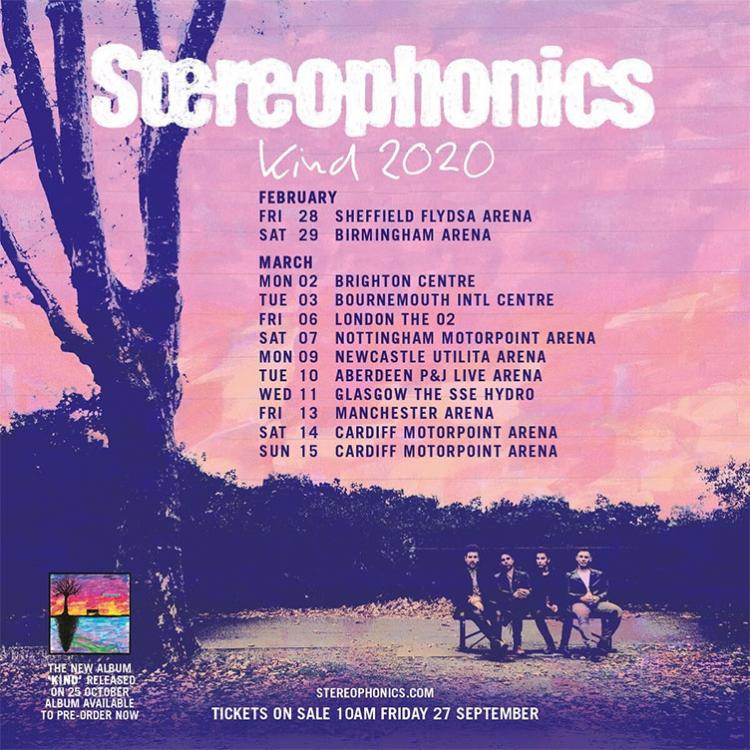 Stereophonics - Kind Tour
