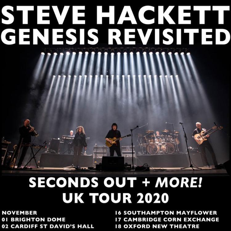 Steve Hackett - Seconds Out Tour