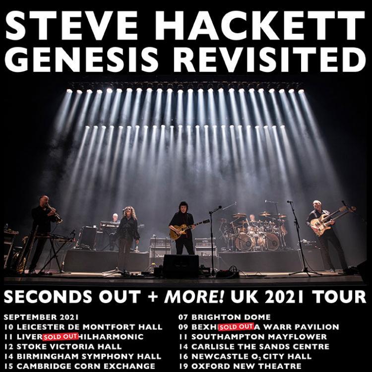 Steve Hackett 2021