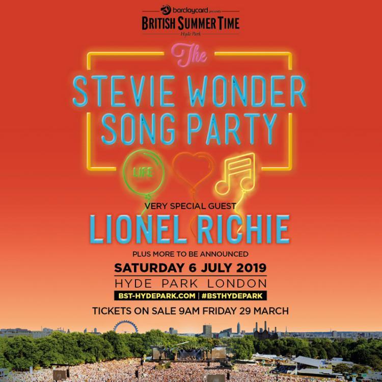 Stevie Wonder - Hyde Park