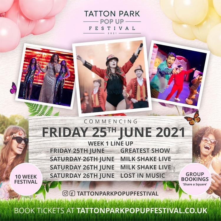 Tatton Park Pop-Up Festival