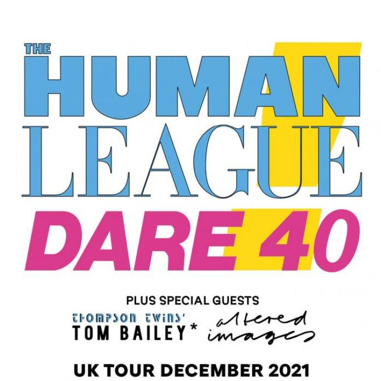 The Human League Tour Poster