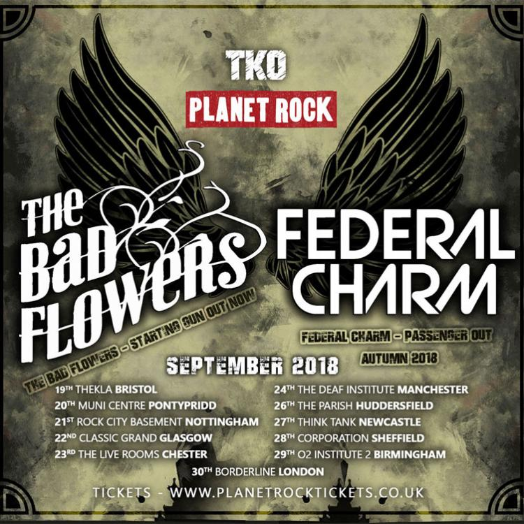 The Bad Flowers and Federal Charm