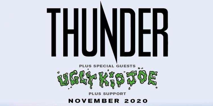 Thunder UK arena tour