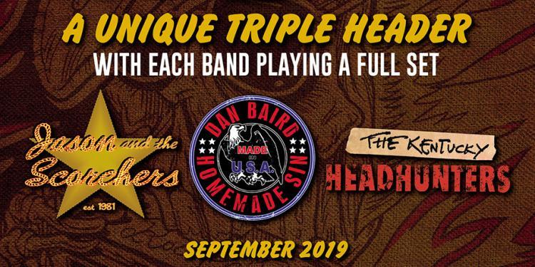 Southern rock triple header