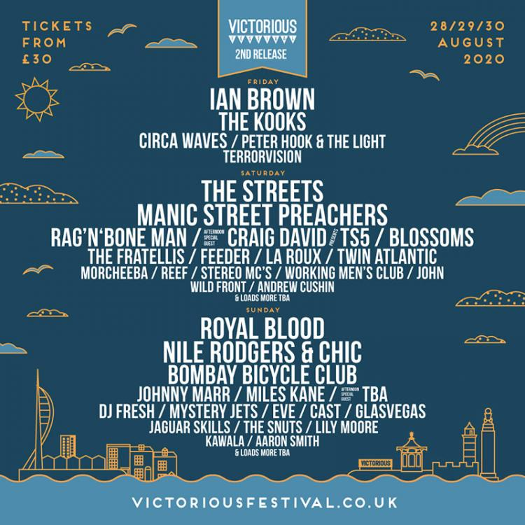 Victorious Festival - Manics