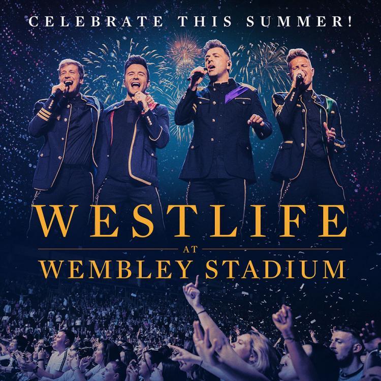 Westlife - second Wembley Stadium